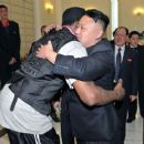 Dennis Rodman Hugging Kim Jong Un - WTF???