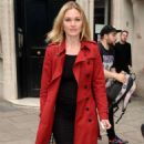 Julia Stiles – Leaves KissFM Studio in London - 454 x 793