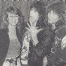 Jon Bon Jovi and Dorothea Hurley with Steven Tyler