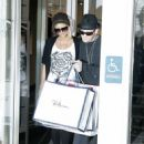 Paris Hilton And Benji Madden Shopping Together In West Hollywood - Feb 25 2008