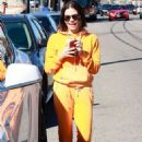 Jenna Dewan Tatum at Starbucks for a coffee in Studio City