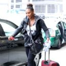 Serena Williams Lax Airport In Los Angeles