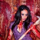 Carla Harvey, singer of the Butcher Babies - 454 x 681