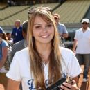 Aimee Teegarden - 51 Annual Hollywood Stars Celebrity Softball Game At Dodger In Los Angeles - 25.07.2009