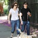 Mandy Moore - Taking Her Dog For A Walk In Los Angeles, 2009-07-19