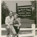 Fred MacMurray and June Haver at the Twin Valley Ranch
