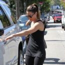 Jessica Biel seen leaving a pilates studio after a workout in Studio City, California on September 8, 2016
