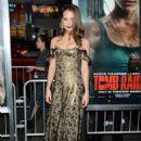 Alicia Vikander – 'Tomb Raider' Premiere in Hollywood