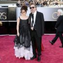 Helena Bonham Carter and Tim Burton At The 85th Annual Academy Awards (2013) - 454 x 324
