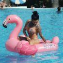 Jemma Lucy in Bikini in Portugal - 454 x 399