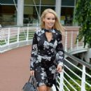 Katie Piper Arrives at her Hotel in Manchester - 454 x 738