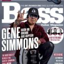 Gene Simmons - Bass Guitar Magazine Cover [United Kingdom] (1 March 2018)