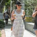 Sophia Bush is seen out and about in Los Angeles CA July 1, 2016 - 400 x 600