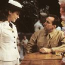 Frances O'Connor and Nicolas Cage in MGM's Windtalkers - 2002