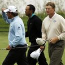 Lee Westwood, Tiger Woods & Ernie Els At The President's Cup - 374 x 340