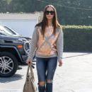 Cara Santana is seen in Los Angeles