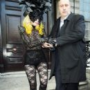 Lady GaGa Stepping Out In London (March 1 2010).