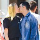 Sophie Turner and Joe Jonas share a kiss in New York City
