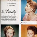 Mona Freeman - Photoplay Magazine Pictorial [United States] (September 1953)