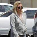 Chloe Moretz in tight leggings out in Beverly Hills