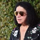 Gene Simmons of music group KISS attends the John Varvatos 13th Annual Stuart House benefit presented by Chrysler with Kids' Tent by Hasbro Studios at John Varvatos Boutique on April 17, 2016 in West Hollywood, California.