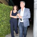 Katharine McPhee and David Foster – Arriving to the Simon Cowell 'Hollywood Star Celebration Party' in LA - 454 x 668