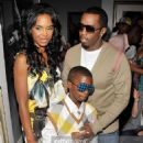 Puff Daddy and Kim Porter - 454 x 734