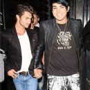 Adam Lambert and Drake Labry - 240 x 459