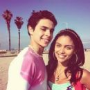 Jake T. Austin and Bianca A. Santos - 454 x 340