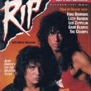 Gene Simmons - Rip Magazine Cover [United States] (October 1987)