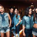 Martin Mica, Thairine Garcia, Erin Heatherton, Izabel Goulart, Diego Miguel for Colcci Spring/Summer 2014 Ad Campaign