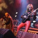 Judas Priest Performs at the Izod Center On November 18, 2011 in New Jersey