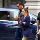 Jennifer Lopez and Alex Rodriguez heading to the Gym in NYC