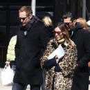 Alexa Chung & Alexander Skarsgard Out And About In NYC ( March 23, 2017) - 454 x 568