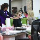 Emma Roberts at Nail Design in Beverly Hills