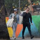 Kate Mara and Jamie Bell – Out in Los Angeles