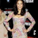 Paula Patton Premieres Mission: Impossible Ghost Protocol in NYC
