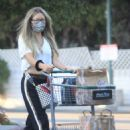 Rebecca Gayheart – Shopping candids at Bristol Farms in Beverly Hills