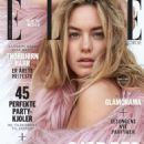 Camille Rowe Elle Norway Magazine December 2014