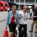 Heikki Kovalainen and Catherine Hyde