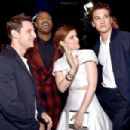 Jamie Bell, Michael B. Jordan, Kate Mara and Miles Teller - 2015 MTV Movie Awards - 454 x 302