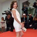 Milla Jovovich Cymbeline Premiere At 71st Venice Film Festival