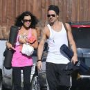 Colin Farrell & His Sister Claudine Hit Up A Yoga Class - 454 x 471
