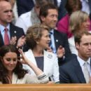 Prince William and Kate at the Wimbledon Lawn Tennis Championships (July 4)