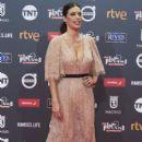 Angie Cepeda- Platino Awards 2017- Red Carpet - 399 x 600