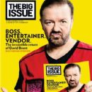 Ricky Gervais - The Big Issue Magazine Cover [United Kingdom] (15 August 2016)