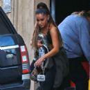 Ariana Grande – Leaving the dance studio in LA