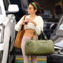 Sarah Hyland in Spandex – Hits the gym in Los Angeles - 454 x 681