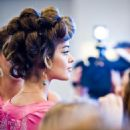 Ana Barros - Backstage At Victoria's Secret Fashion Show 2008 - November 15, 2008
