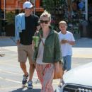 Reese Witherspoon goes grocery shopping Checks out her new home and takes lil toy to park April 11, 2015 in Santa Monica
